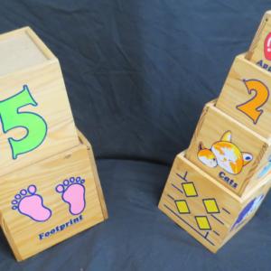 B024: Wooden Nesting Blocks