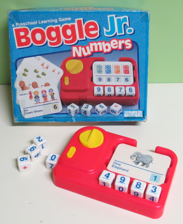 G007: Parker Brothers. Boggle Junior Numbers
