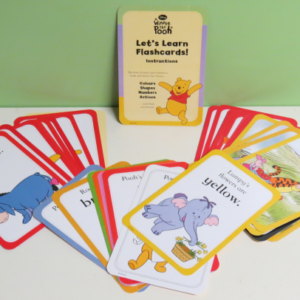 G010: Winnie The Pooh Let's Learn Flashcards