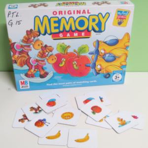 G015: Original Memory Game