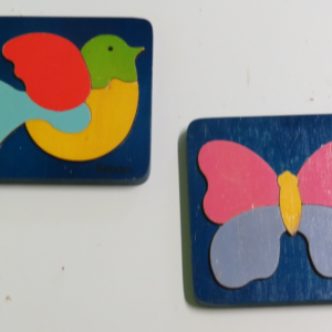P009: Butterfly and Bird Puzzles