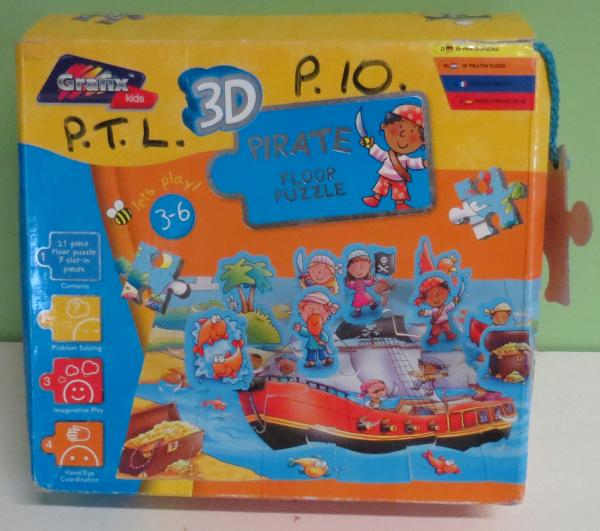 P010: Pirate Floor Puzzle