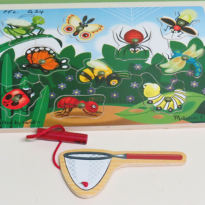 P012: Magnetic Bug Catching Puzzle