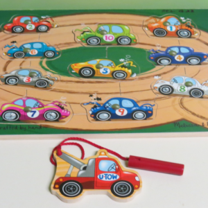 P013: Magnetic Tow Truck Puzzle