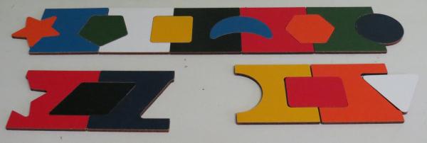 P016: Shape on Shape Puzzle