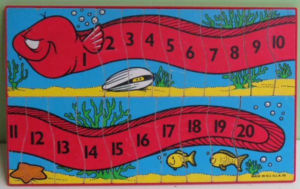 P029: Eel Number Puzzle
