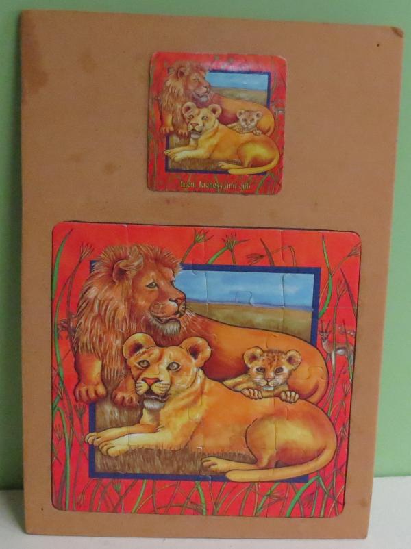 P034: Lion Puzzle