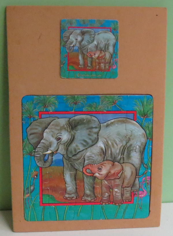 P035: Elephant and Calf Puzzle