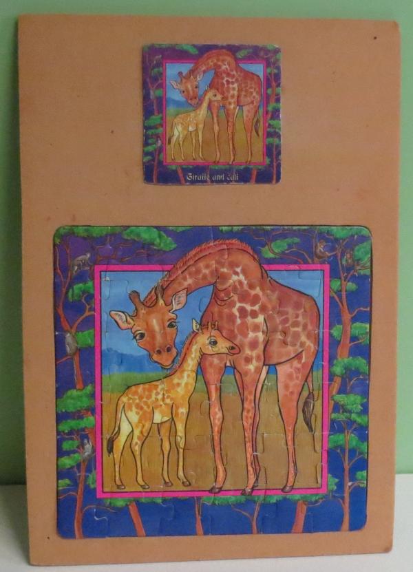 P036: Giraffe and Calf Puzzle