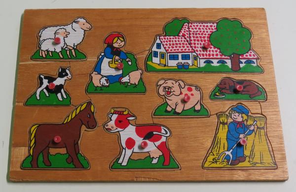P041: Farm Animals Puzzle