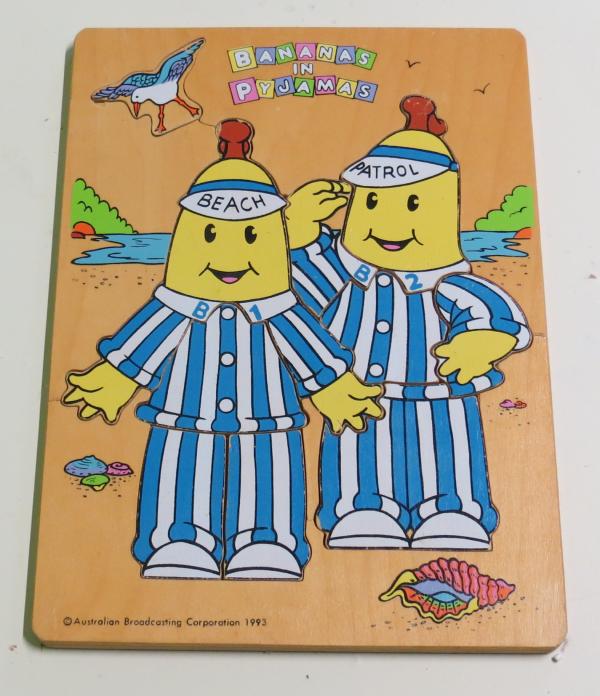 P047: Bananas in Pyjamas Beach Patrol Puzzle