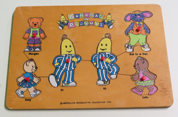 P048: Bananas in Pyjamas and Friends Puzzle