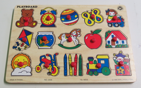 P055: Playboard Toys Puzzle
