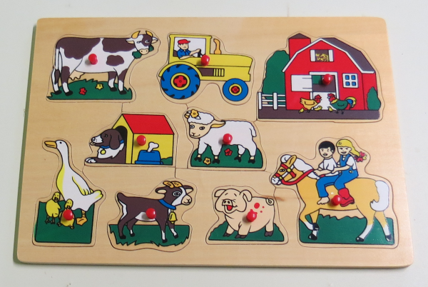 P063: Farm animals and Friends Puzzle