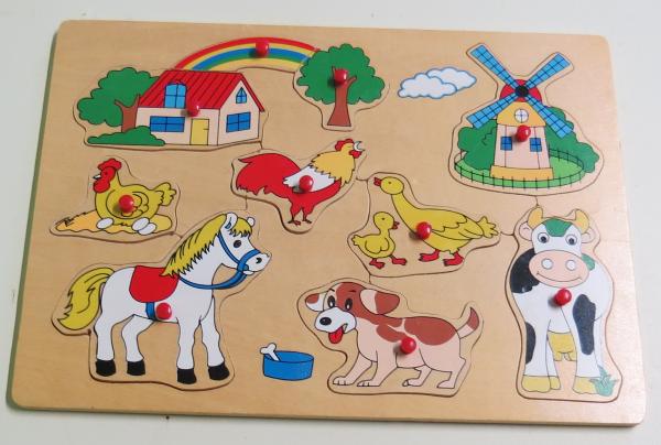 P064: Rainbow Farm Puzzle