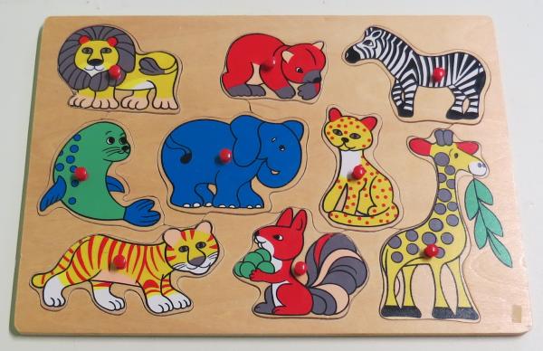 P065: Wild Animals Puzzle