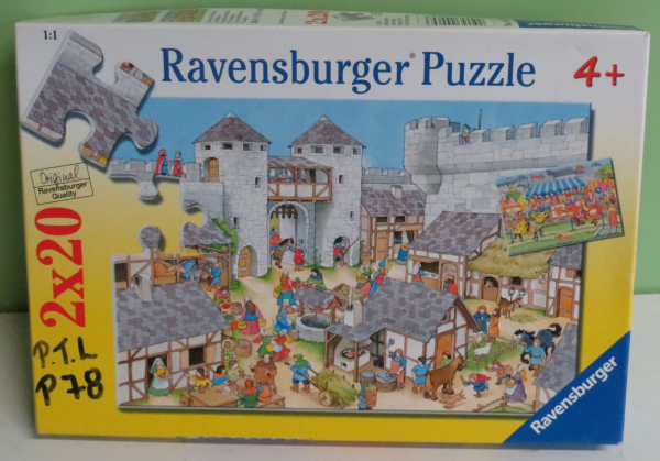 P078: The Fortress Court Yard Puzzle