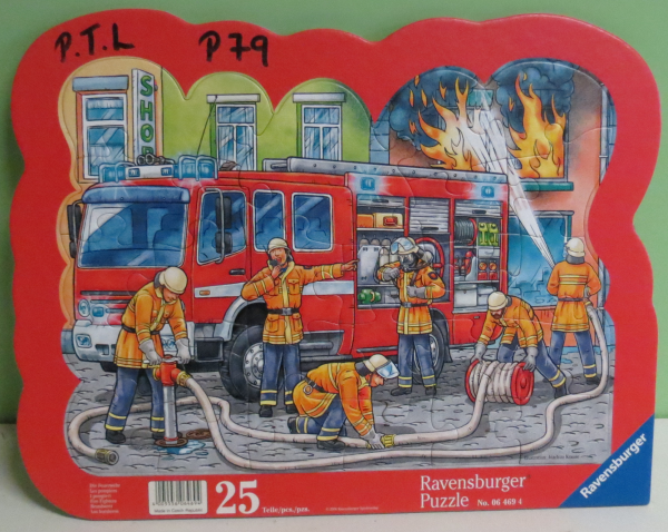 P079: Ravensburger Fire Fighters Puzzle