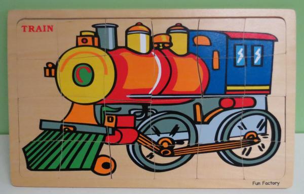 P084: Fun Factory Train Puzzle