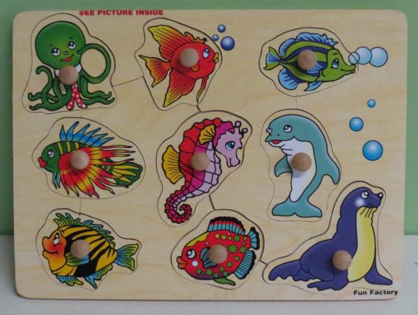 P087: Fun Factory Sea Creatures Puzzle