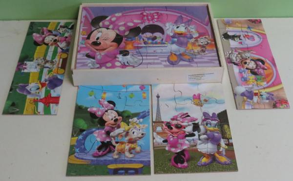 P097: Disney Minnie Mouse Puzzle Set
