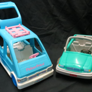 V003: Fisher Price car and Van